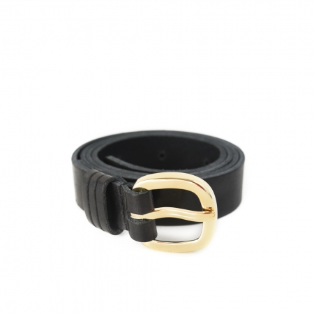 femme-black-gold-damesriem-zwart-Tannery-Leather